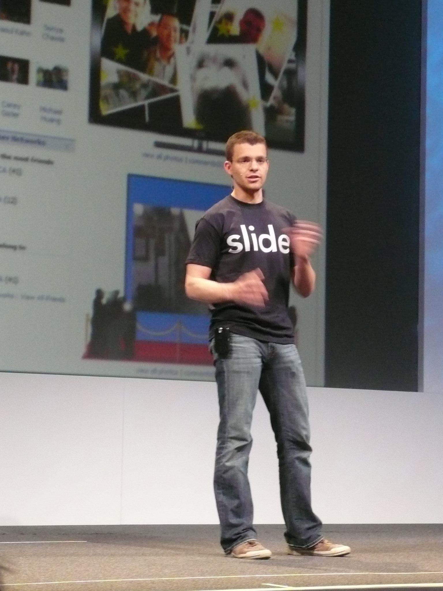 Max Levchin, Slide